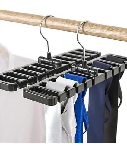 Imagem 1 de 9 de 2 Cabide Organizador Porta Cintos Gravatas Lenços Bolsas E +