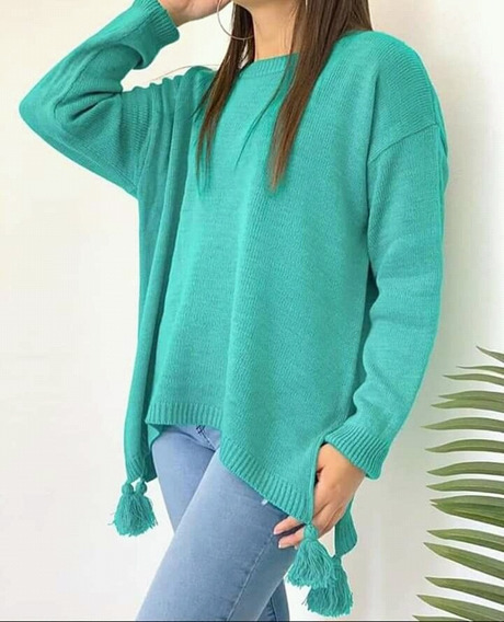 Sweaters Pompom 6 Colores