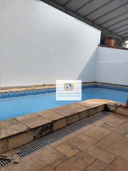 Casa Com 6 Dormitórios Para Alugar, 260 M² Por R$ 5.500/mês - Cidade Universitária - Campinas/sp - Ca1194