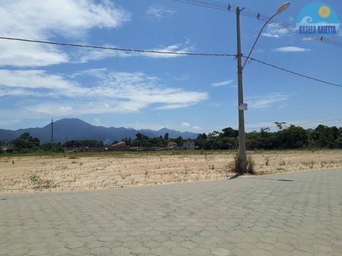 Terreno No Bairro Ribamar Em Peruíbe - 2446
