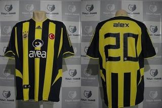 Camisa De Jogo Do Fenerbahce 2005 #20 Alex Tam.gg