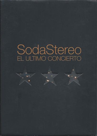 Soda Stereo El Ultimo Concierto En Dvd Open Music Sy