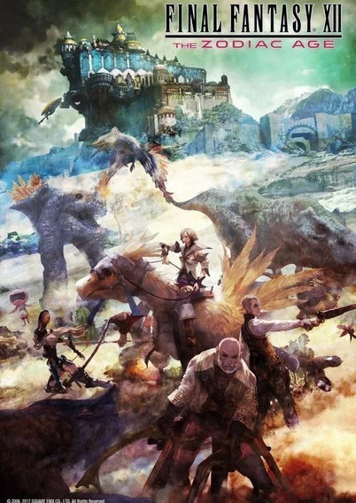 Final Fantasy Xii The Zodiac Age - Pc Mídia Digital
