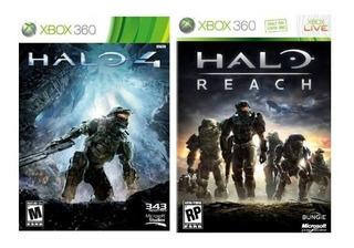 Halo 4 & Halo Reach En $150 - Jdcc