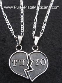 42e6d84e1ec6 Cadenas Con Corazones De Tu Y Yo - Joyería en Mercado Libre México