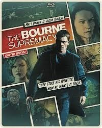 Blu-ray Steelbook --- The Bourne Supremacy