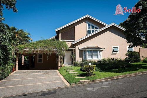 Casa Com 4 Dormitórios À Venda, 286 M² Por R$ 1.350.000,00 - Condomínio Campos De Santo Antônio - Itu/sp - Ca0077