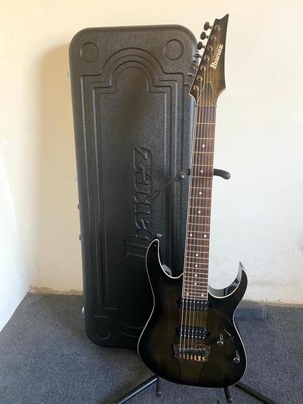 Guitarra Ibanez Prestige Rg752lwfx-agb Como Nueva.