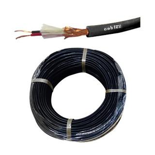 Rollo 100m Cable Stereo Microfono Audio Sonido 6mm Cabtec