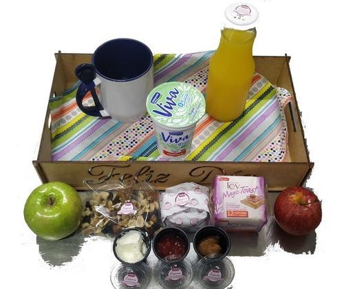 Imagen 1 de 6 de Desayuno Fit Saludable - Date El Gusto - P/1 - Mdf
