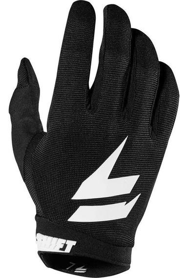 Guantes Moto White Air Glove Negro Shift. .