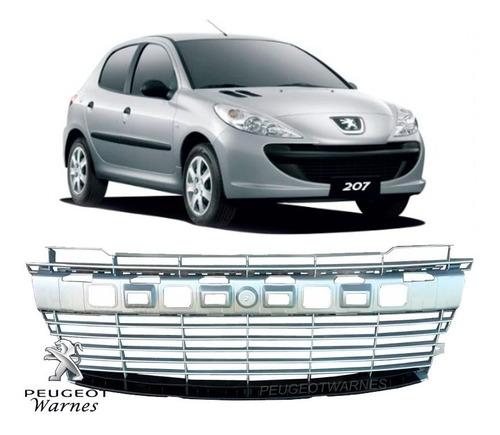 Rejilla Paragolpe Gris Original Peugeot 207 Compact 1.4 Hdi