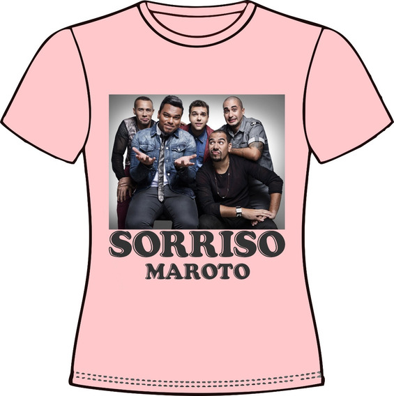 Camiseta, Baby Look, Regata Ou Almofada Sorriso Maroto 04