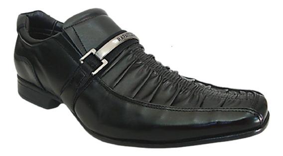 Sapato Adulto Masculino Preto Em Couro Da Rafarillo 7842
