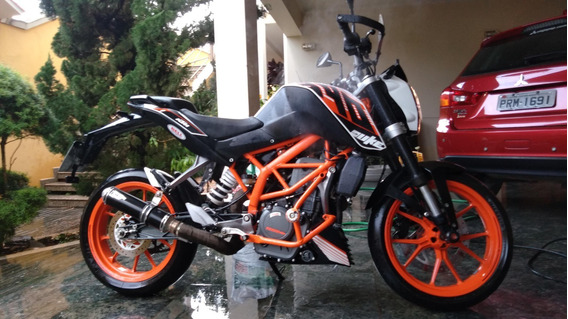 Ktm Duke 390 Branca Remap