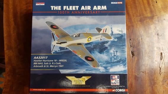 Avião Die Cast 1:72 Hawker Hurricane 1b - Corgi - Aa32017