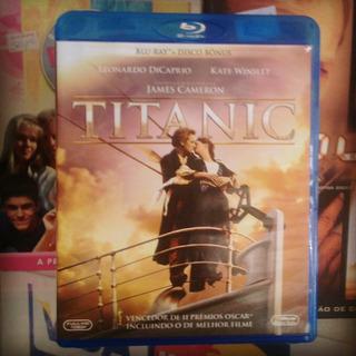 Blu Ray + Disco Bônus Titanic