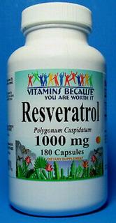 Trans Resveratrol 1000 Mg 180 Cáp Antioxidante Eua