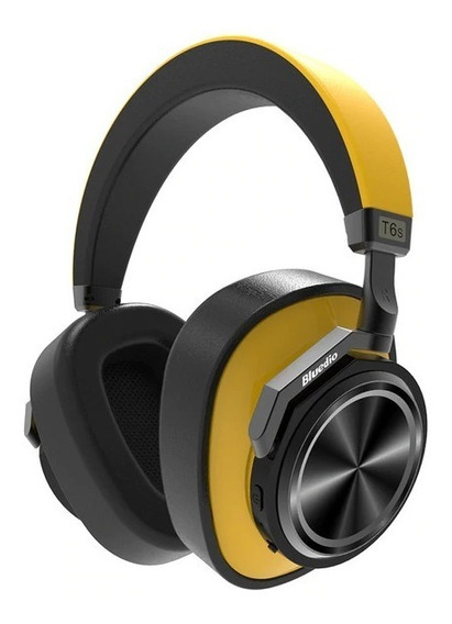 Fone Bluedio T6s Amarelo