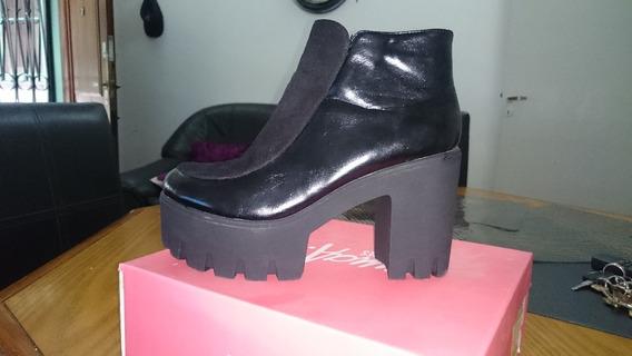 Zapatos De Mujer Tipo Botineta Nuevas Sin Uso Liquido