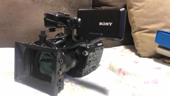 Sony Pxw-fs5 Com Licença Raw 4k 60p 120fps