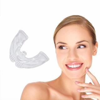 3-section Dental Orthodontic Braces, Silicone Smile Teeth Al