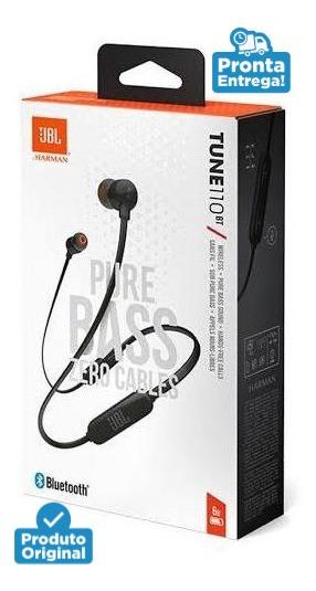 Fone De Ouvido Sem Fio Jbl Tune110bt Bluetooth