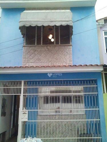 Imagem 1 de 17 de Casa Com 3 Dormitórios À Venda, 209 M² Por R$ 490.000,00 - Galo Branco - São Gonçalo/rj - Ca16694