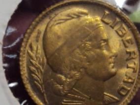 Moneda Argentina 10 Centavos Torito 1942 Ref( A 104)