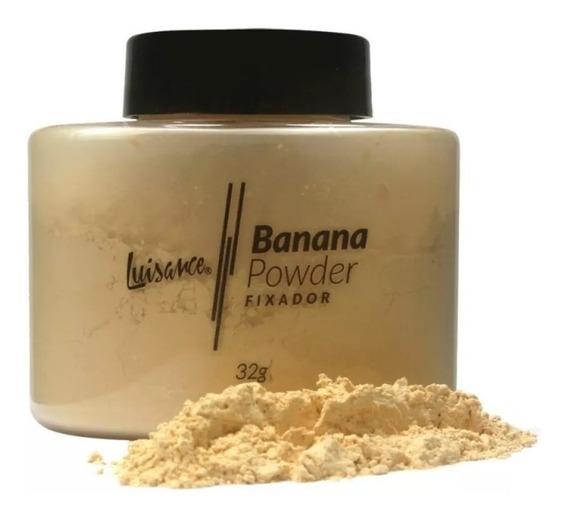 Po Banana Powder Fixador Translucido Facial Luisance 32g