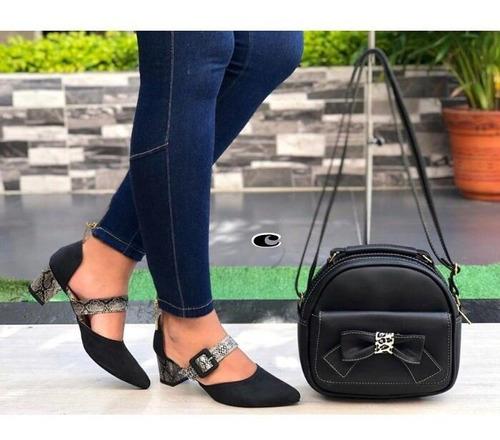 58de06bb Zapatos Tacon Bajo Y Baratos Para Mujer en Mercado Libre Colombia