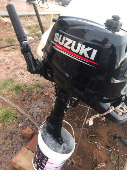 Suzuki 6hp - 1 Tanque De Uso
