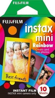 Papel Rainbow X 10 Instax Mini 8 Fujifilm