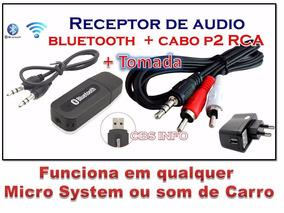Bluetooth Áudio Carro Casa Celular Música Sem Fios.