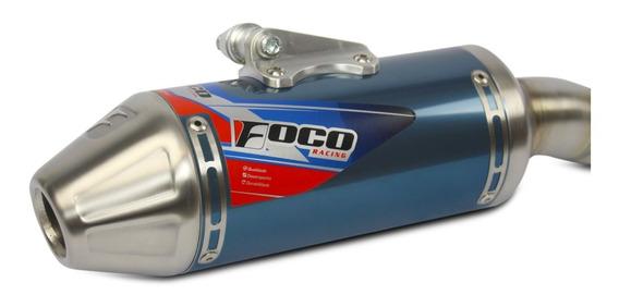 Escapamento Crf 250f Foco Racing