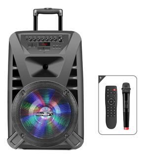 Parlante Bluetooth Sentey Thunderx Fm Mic Control 6000 Pmpo