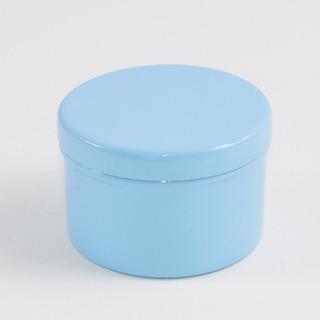 Lote Promocional 10 Peças Lata Azul Para Lembrancinha 6x4cm