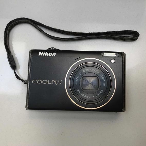 Câmera Nikon Coolpix S640 (não Liga)
