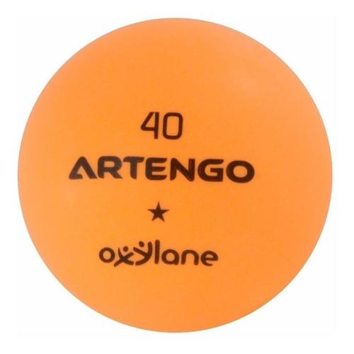 Pelotas De Ping Pong (12 Pelotas) Color Naranja
