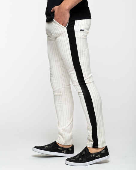 Pantalon Spender Elastizado Crudo Siamo Fuori Premium