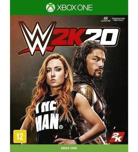 Wwe 2k20 Xbox One Código 25 Dígitos