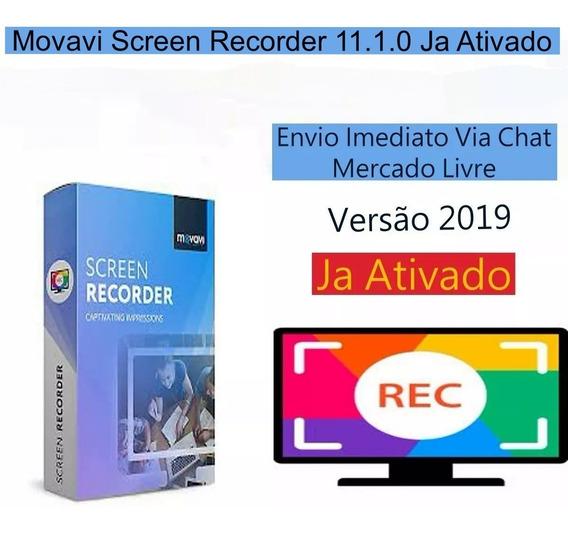 Movavi Screen Recorder 11.1.0 Envio Imediato