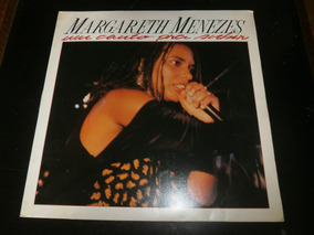 Lp Margareth Menezes - Um Canto Pra Subir, C/ Encarte, 1990