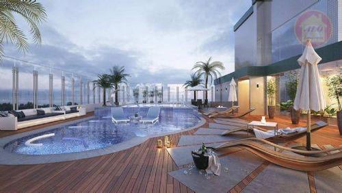 Apartamento À Venda, 124 M² Por R$ 689.903,50 - Canto Do Forte - Praia Grande/sp - Ap5134