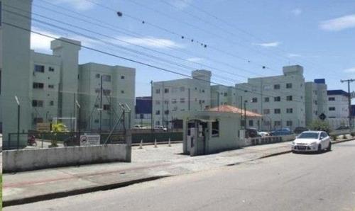 Apartamento Com 2 Dormitórios À Venda, 52 M² Por R$ 123.000,00 - Sertão Do Maruim - São José/sc - Ap8477