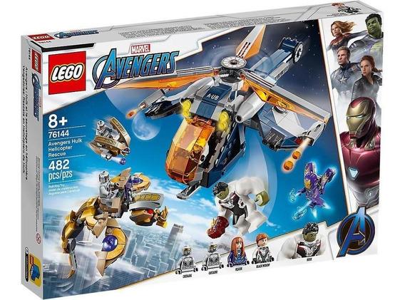 Lego Marvel Avengers: Rescate En Helicóptero De Hulk 76144