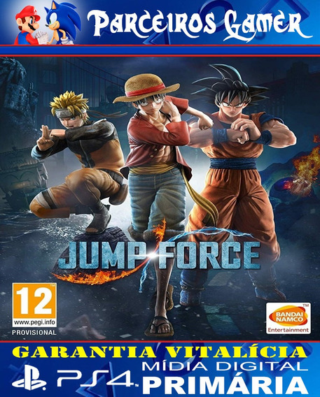 Jump Force - Ps4 1 - Mídia Digital - Combate - Luta