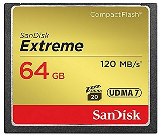 Tarjeta De Memoria Compactflash Extreme De 64gb Sandisk (sdc