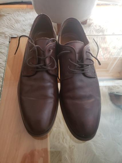 Zapato Aldo Marron Claro Cuero 43eur / 10us