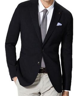 Saco Entallado Hombre Blazer De Vestir Hombre Varios Colores